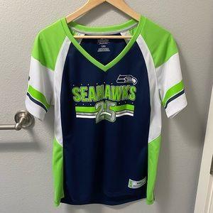 Seahawks Richard Sherman NFL Jersey Shirt Size L